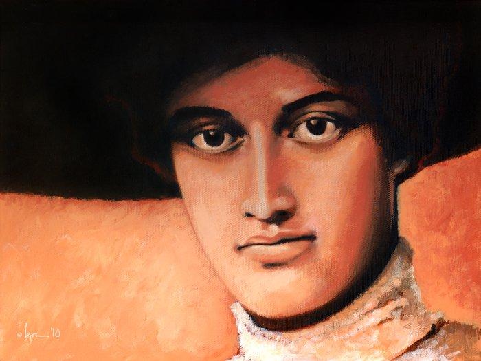 Princess Kaiulani Portrait