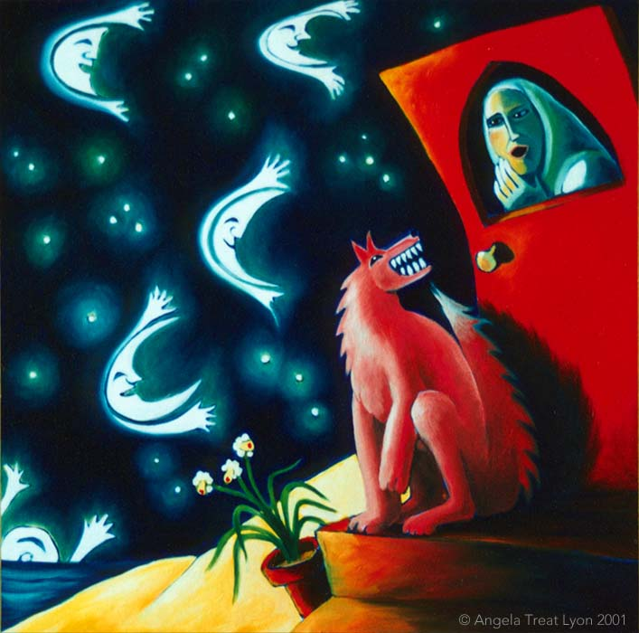 Many Moons Passed with the Wolf at My Door