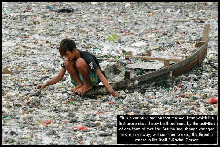 water garbage