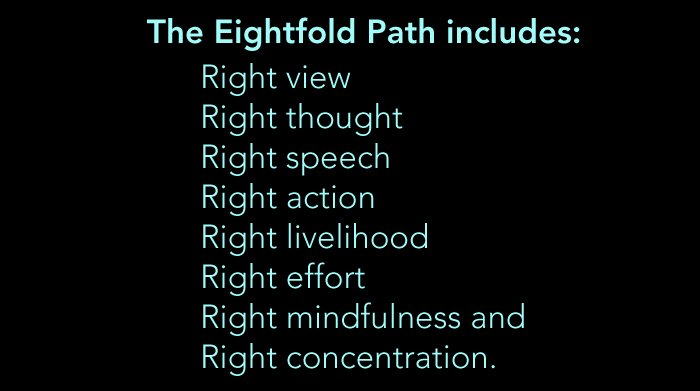 8-fold path
