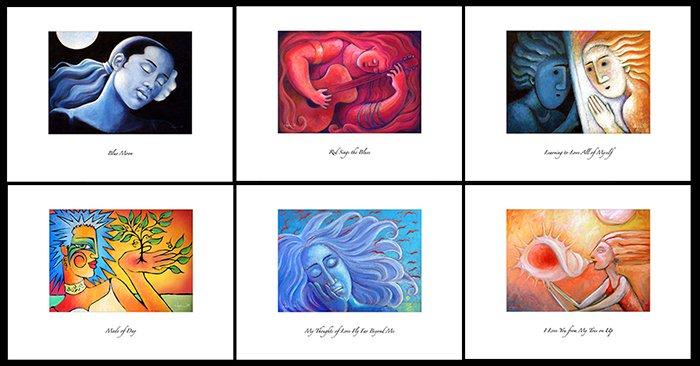 6 Freedom of Women Prints (Horizontal)