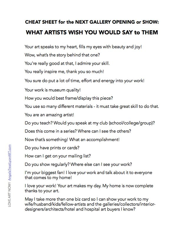 WHAT-TO-SAY-TO-ARTISTS