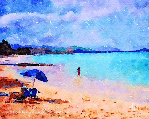 Kailua Beach Umbrella