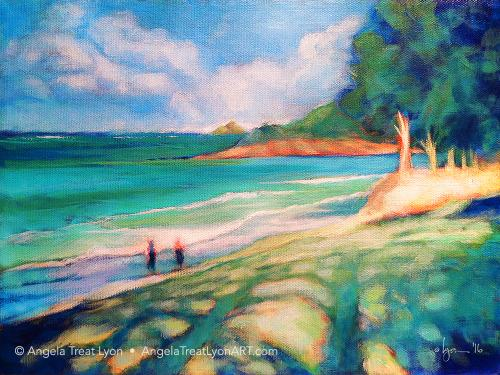 Kailua-shadows