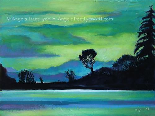 Lone Tree on the Salish Sea