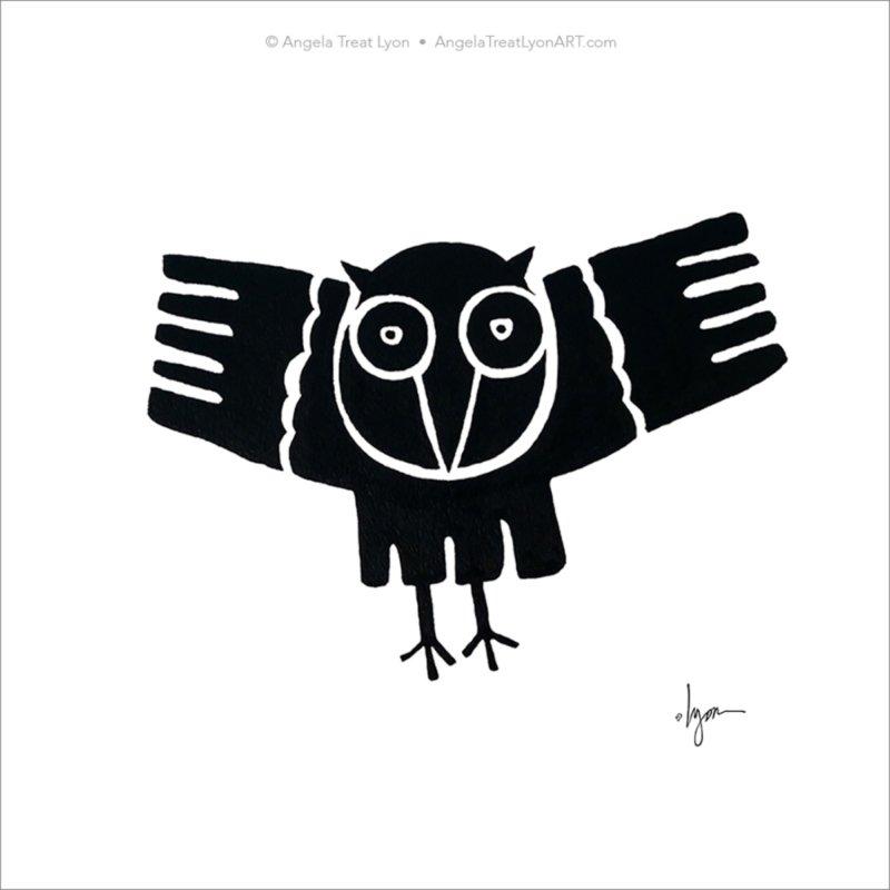 Curvy Owl