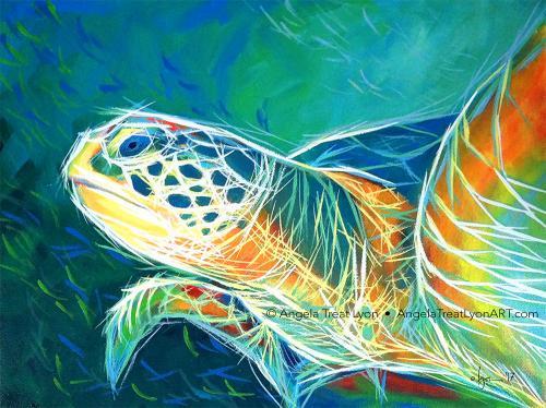 Deep Sea Turtle